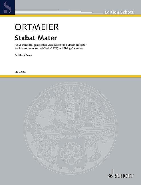 Noten-Cover »Stabat Mater«
